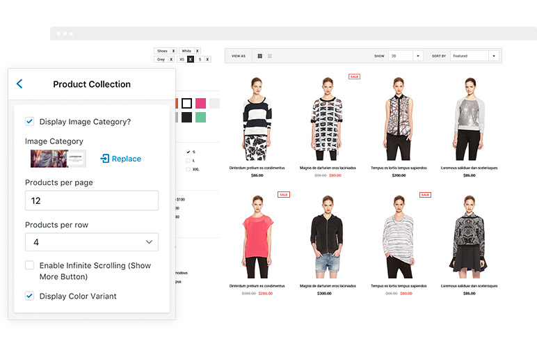 Ella Responsive Fashion Shopify Template Sections Ready - Shopify custom page template