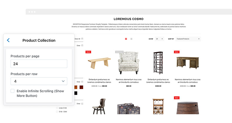 DECORTICA Responsive Shopify Template HaloThemescom - Shopify product page template