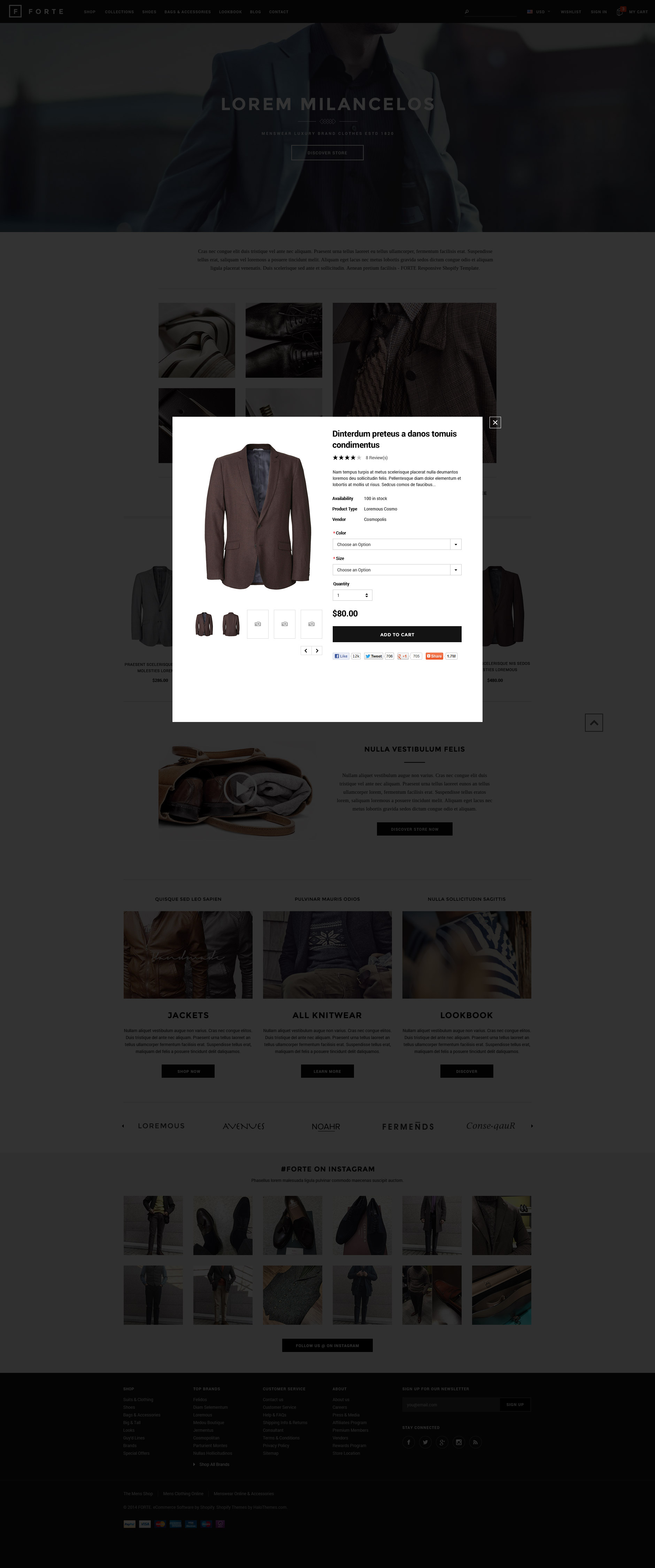 FORTE - Responsive Shopify Template