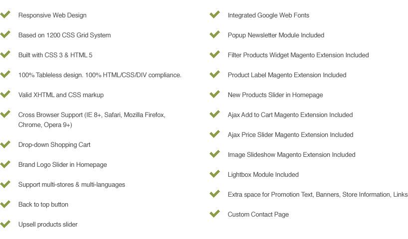 Halo bicydos bike store responsive magento template 19x ready full features list maxwellsz