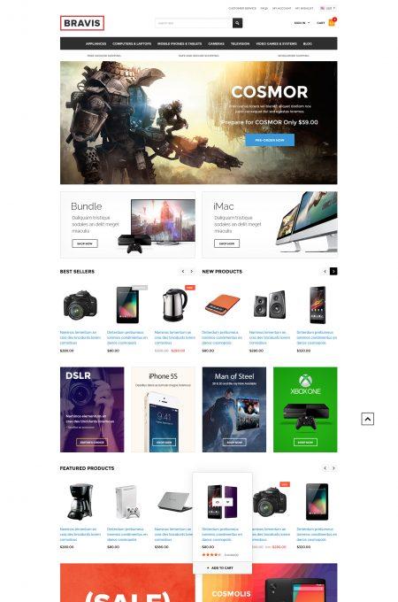 Bravis - Responsive Electronics Shopify Template