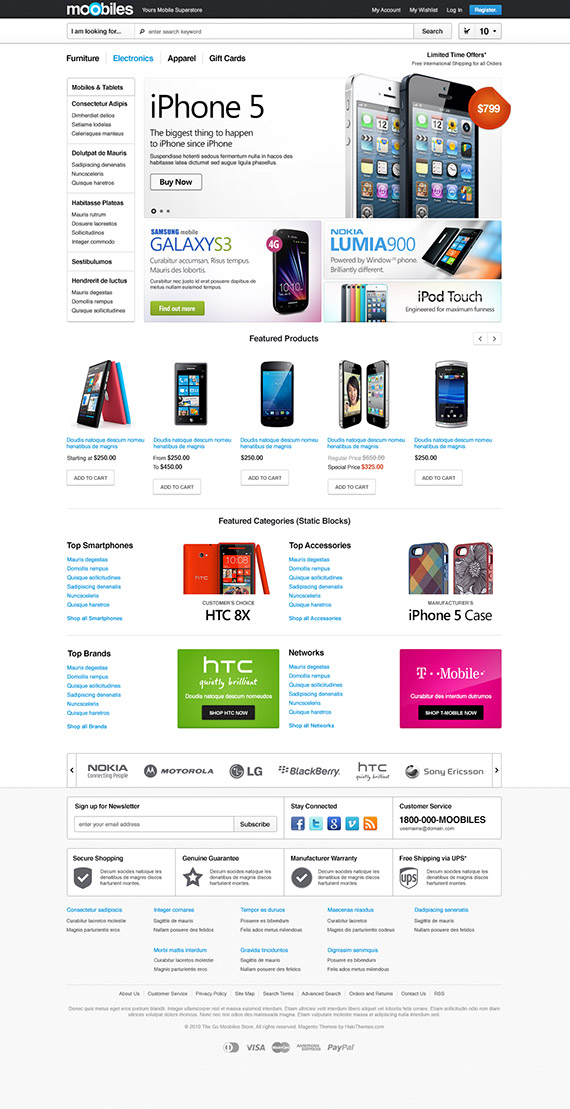 Go Moobiles - Mobile Magento Go Theme: Released