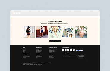 Shopify Module: Instagram Image Gallery
