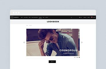 Shopify Module: LookBook