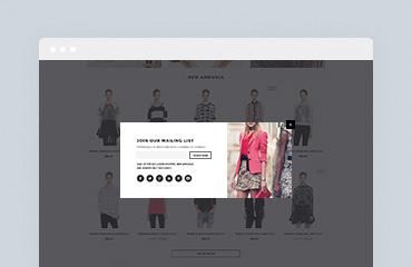 Shopify Module: Popup Newsletter