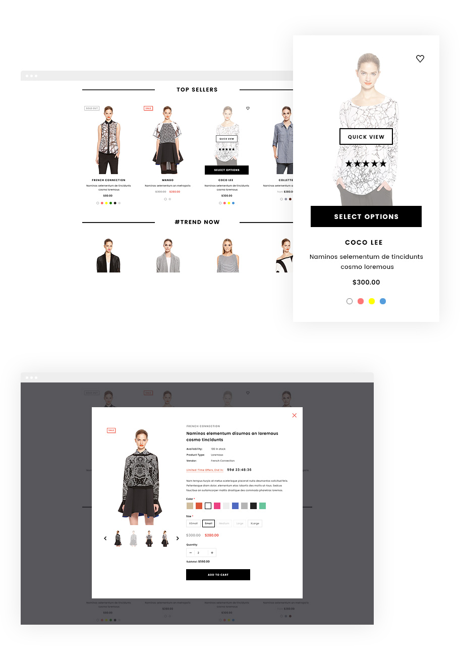 Brooklynk - Responsive Fashion Shopify Template (Sections Ready