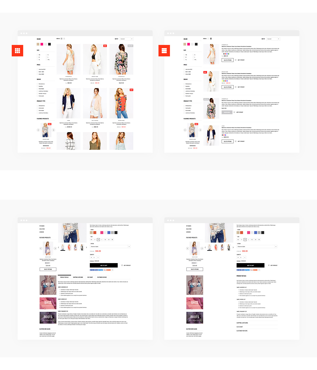 shopify how to change custom html sections