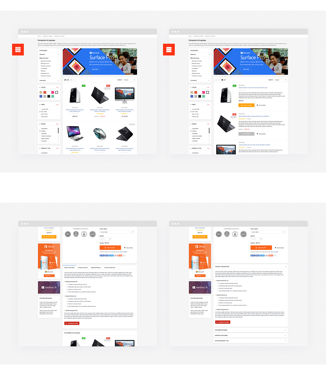 FlexyKart Responsive Supermarket Shopify Template HaloThemescom - Premium shopify templates