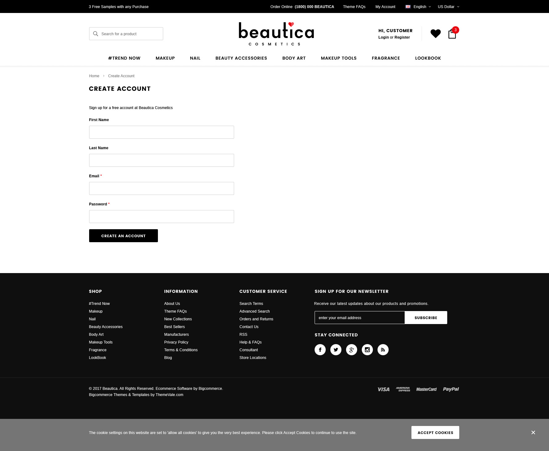 Beautica - Responsive Health & Beauty Shopify Template