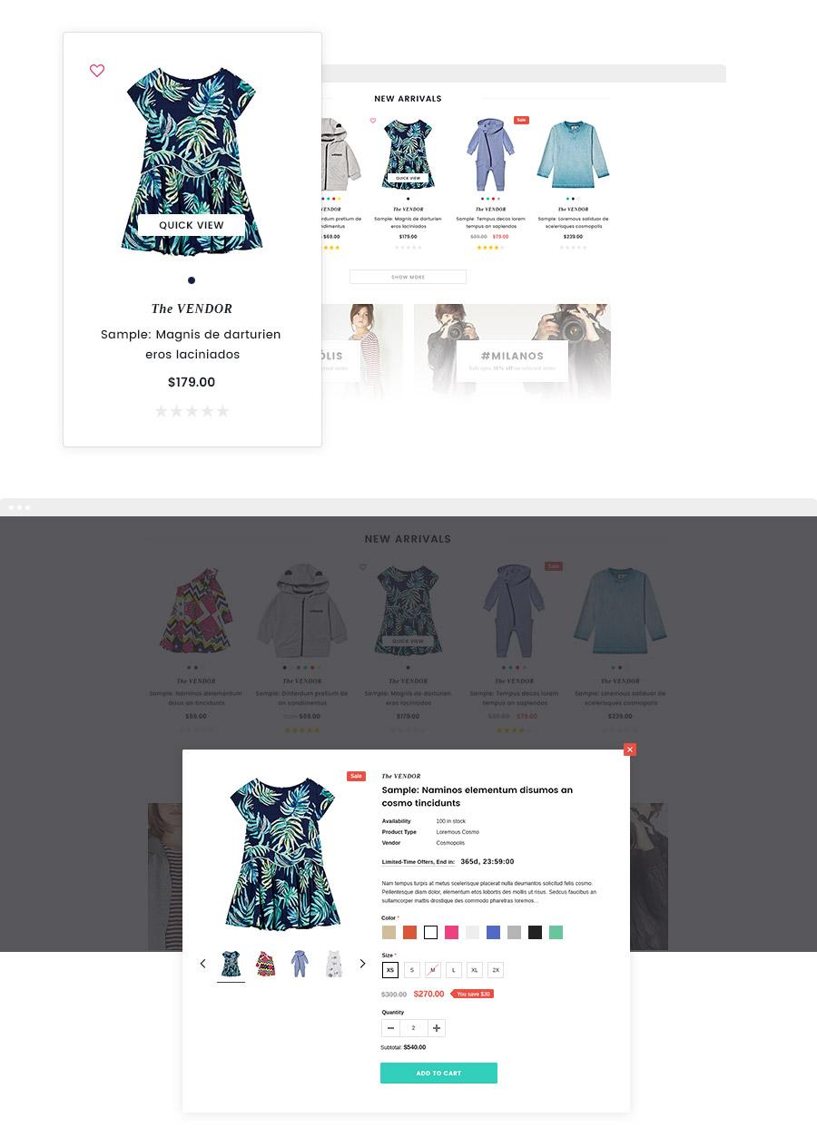 Bourdon – Responsive Kids Clothing Shopify Template - HaloThemes.com