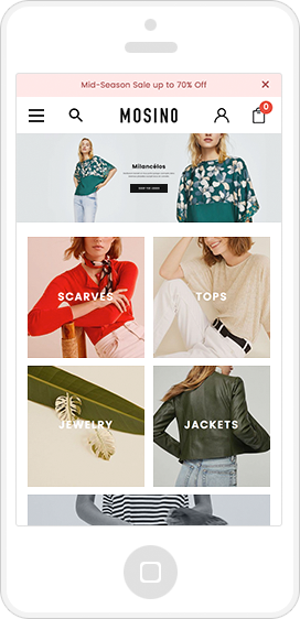 MOSINO - Responsive Fashion 3dCart Theme (Core)