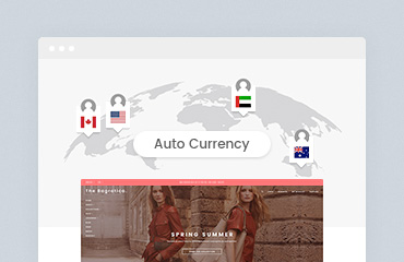 Shopify Module: Auto Currency