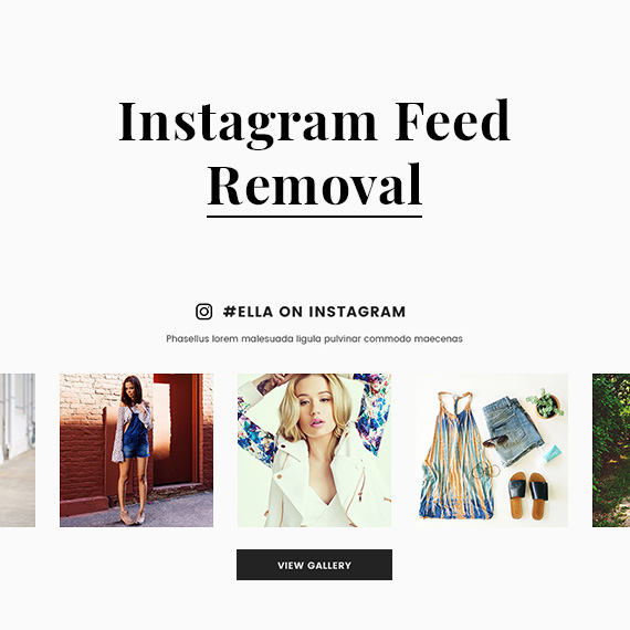 Important notice: Instagram feed removal